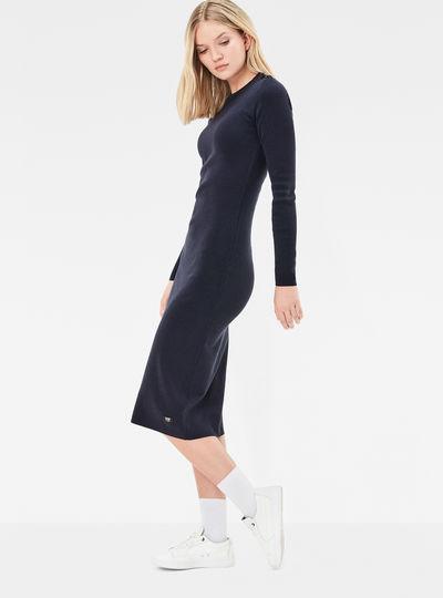 Exly Slim Knit Dress