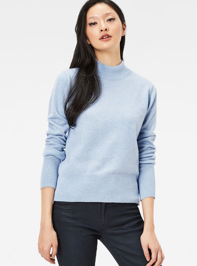 Core Turtleneck Knit Pullover
