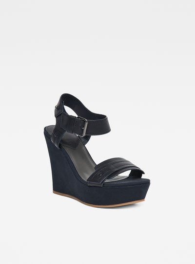 Claro Wedge Sandals