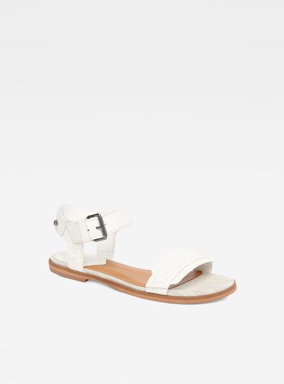 Claro Flat Sandals