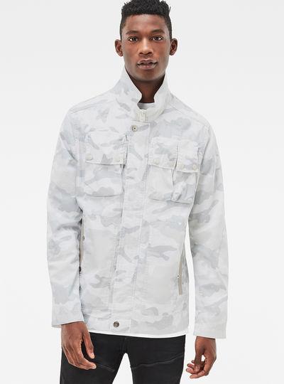 Ospak Deconstructed Spatter Overshirt