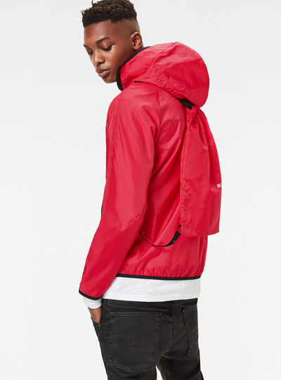 Strett Hooded Gym-Bag Jacket