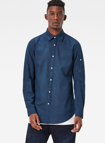 Stalt Clean Denim Shirt