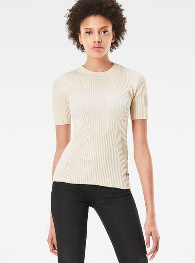 Lynn Plated Knit