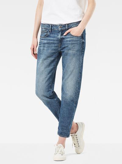 3301 Low Waist Boyfriend Cropped Jeans