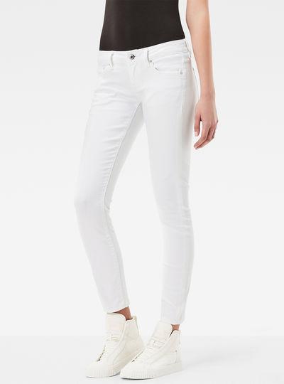 3301 Low Waist Skinny Ankle Jeans
