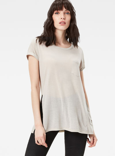 Roa Straight Pocket T-Shirt