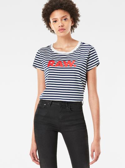 Glenna Straight Stripe T-Shirt