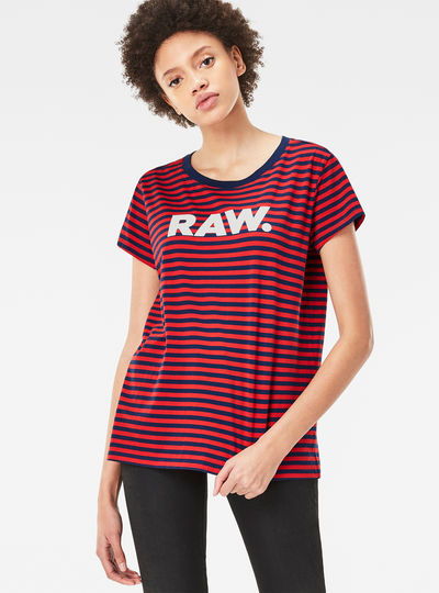 Glenna Straight Stripe T-Shirt