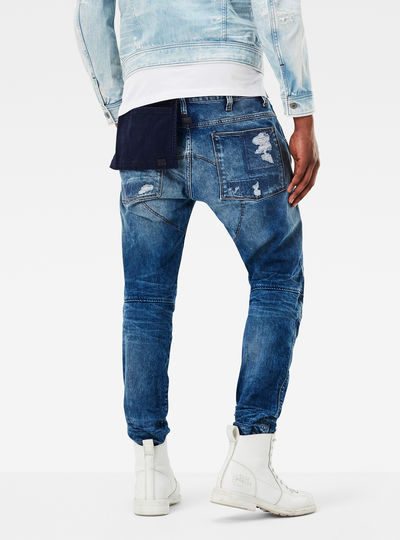 5620 G-Star Elwood 3D Tapered Pocket Jeans