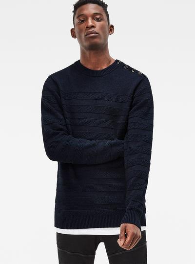 Dadin Indigo Knit