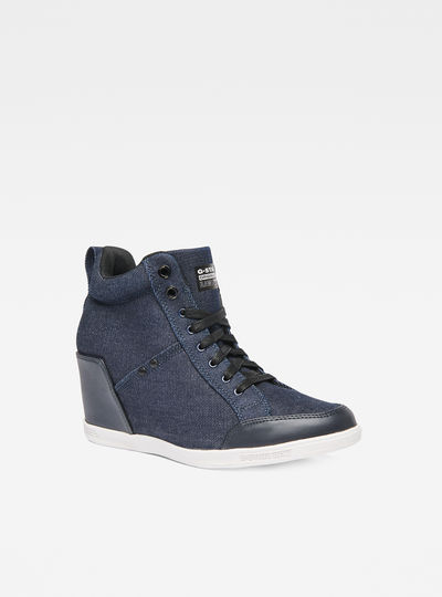 Labor Wedge Sneakers