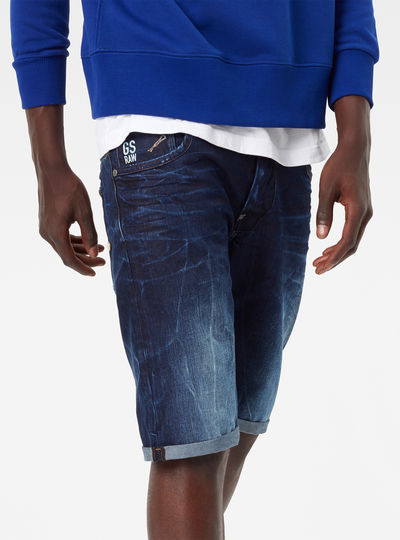 Attacc Low Straight 1/2 Length Shorts