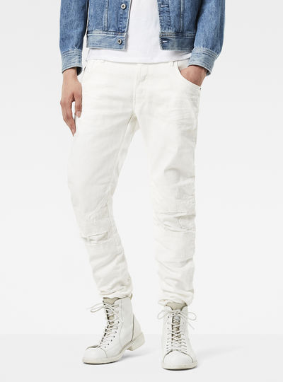 Arc 3D Moto-Restored Slim Jeans