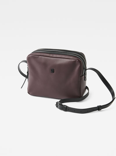 Mozoe Small Leather Shoulder Bag