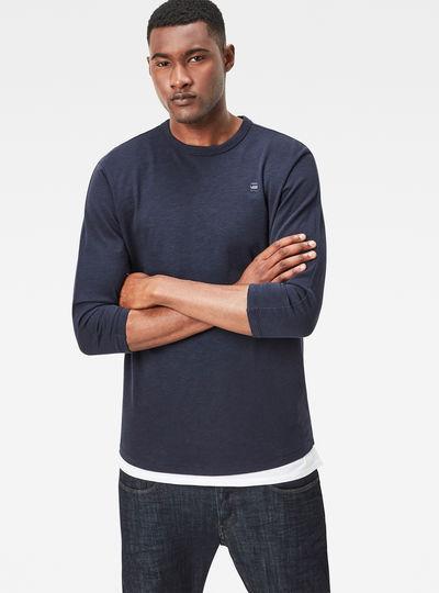 Core 3/4 Silver T-Shirt