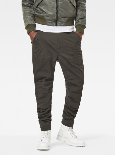 Rackam Cargo Deconstructed Tapered Pants