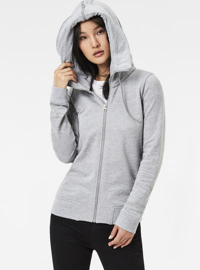 Polax Hooded Zip Sweater