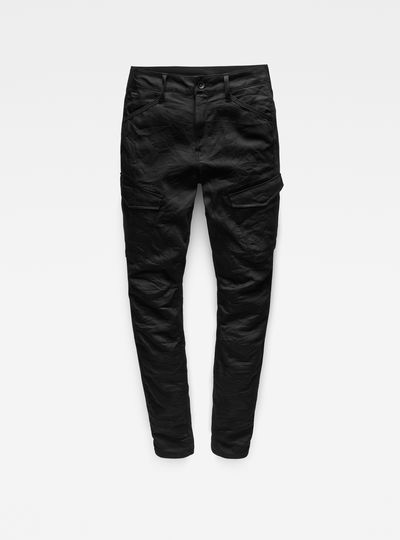 Rovic Deconstructed Mid-Waist Skinny Pants