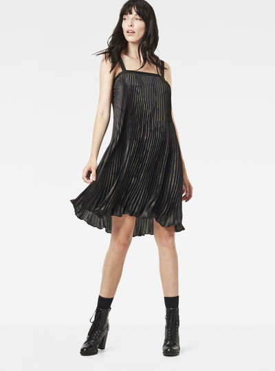 GS Plisee Sleeveless Dress