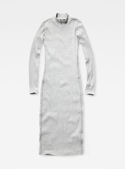 Xinva slim funnel dress wmn l/s
