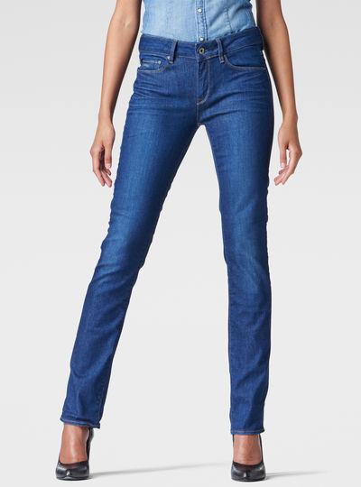 3301 Contour High Waist Straight Jeans