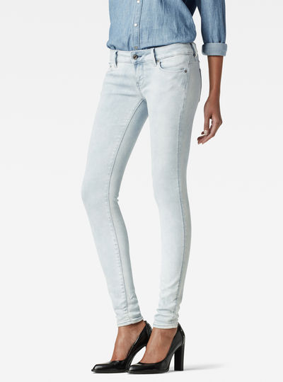 3301 Low Waist Super Skinny Jeans