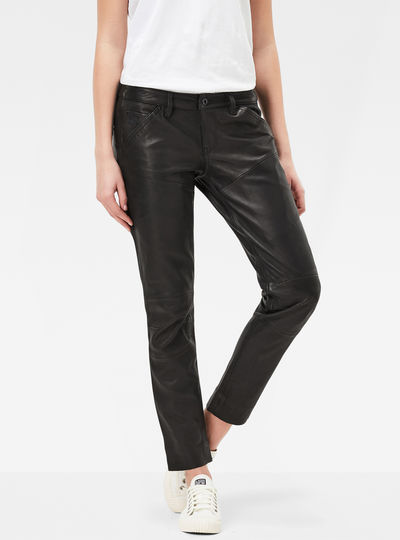 5620 G-Star Elwood Leather Tapered Pants