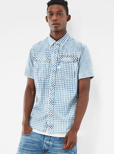 3301 Pattern-Mix Shirt