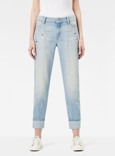 Lanc 3D High Straight Jeans