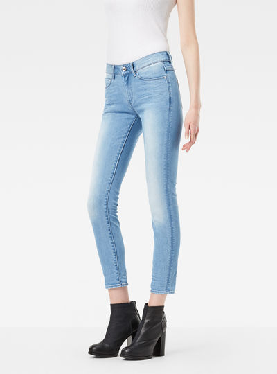 3301 High Waist Skinny Ankle Jeans