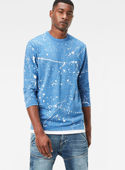 Splatter 3/4-Sleeve T-Shirt