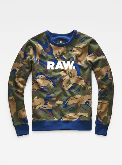 Dutch-Camo Core Sweater