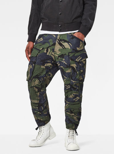 Rovic Loose 7/8-Length Cargo Pants