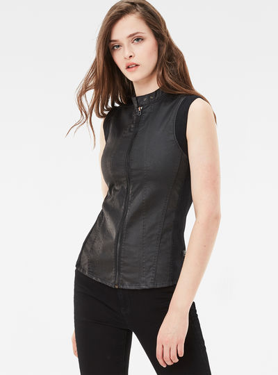 Lynn Slim Zip Shirt