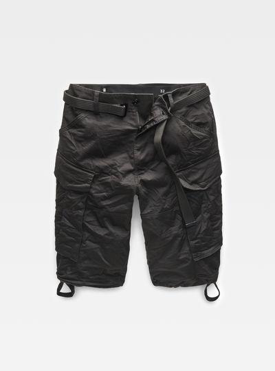 Rovic belt Loose 1/2 Length Shorts