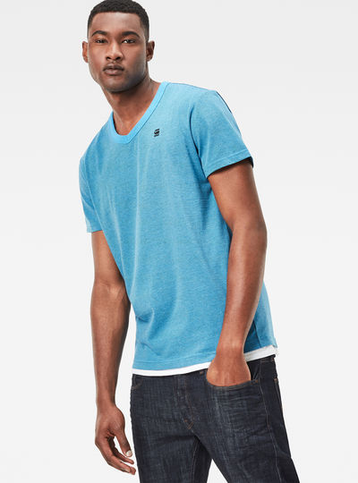 Bonded V-Neck T-Shirt