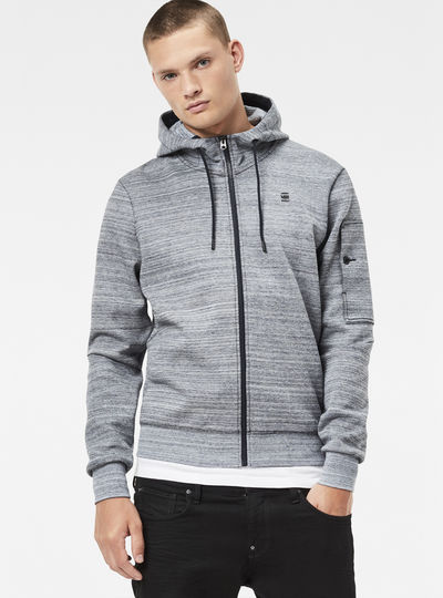 Stalt Hooded Zip Sweater