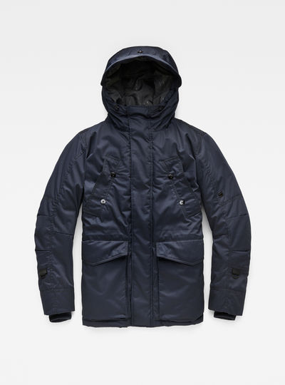 Whistler Twill Hooded Short Jacket