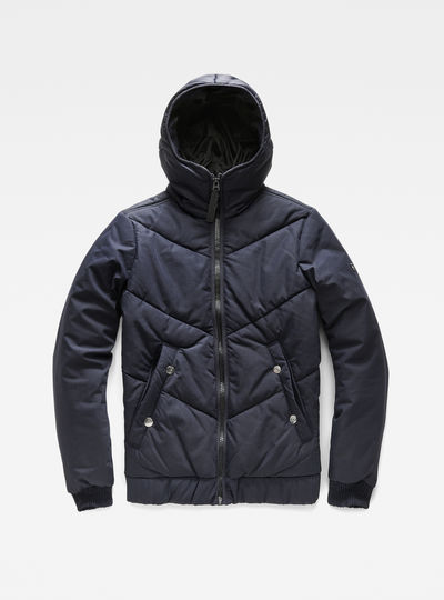 Strett Chevron Hooded Jacket