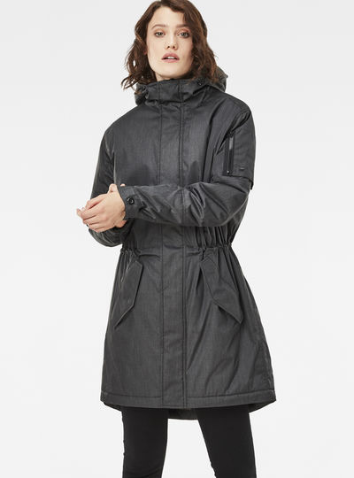 Rackam Hooded Padded Boyfriend Parka