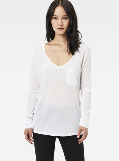 Audnya Straight V-Neck T-Shirt
