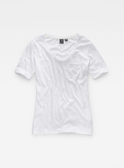 Adisyon Straight Deep-V T-Shirt