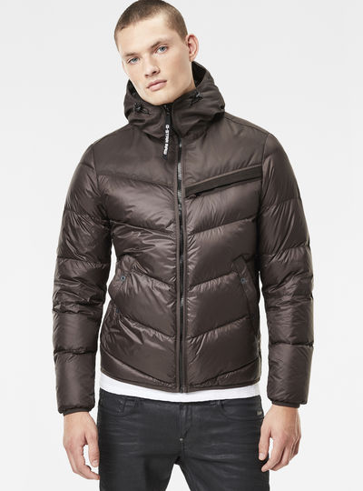 Attacc Quilted Hooded Down Jacket