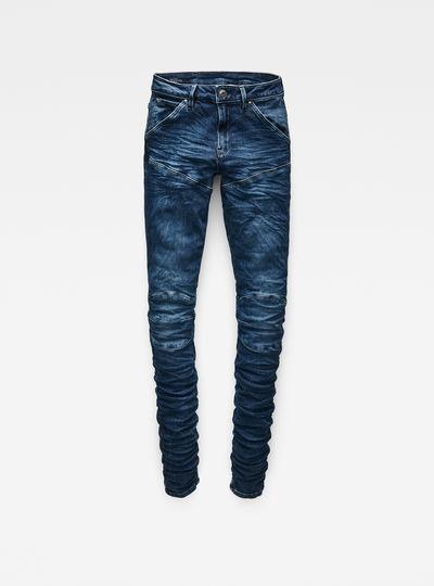 5620 G-Star Elwood Staq 3D Mid Waist Skinny Jeans