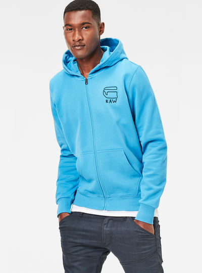 Xondo Hooded Zip Sweater