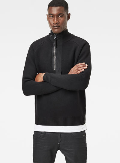 Empral 1/2-Zip Knit
