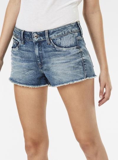 3301 Mid Waist Shorts