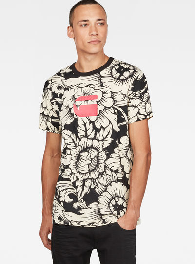 Thai Silk Print T-Shirt