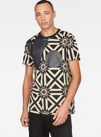 Persian Geometric Print T-Shirt